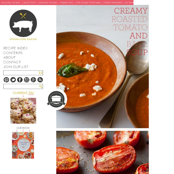 Creamy Roasted Tomato & Basil Soup recipe