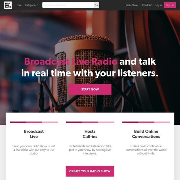 Create an Online Radio Show