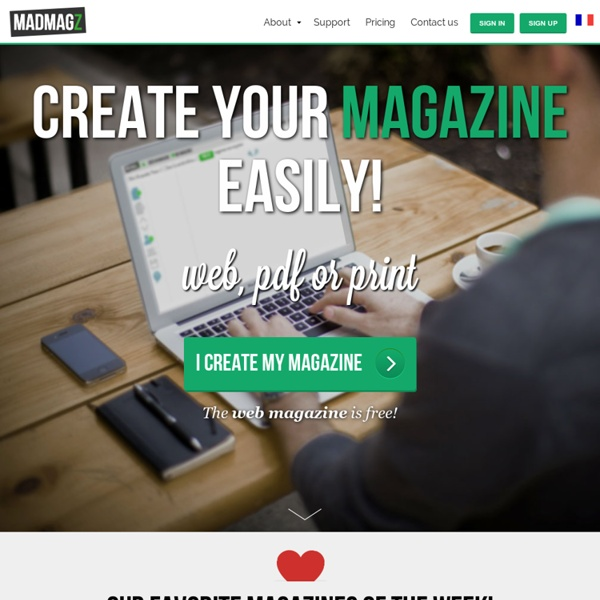 Create your mag for free: Madmagz