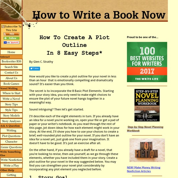 Create A Plot Outline In 8 Easy Steps