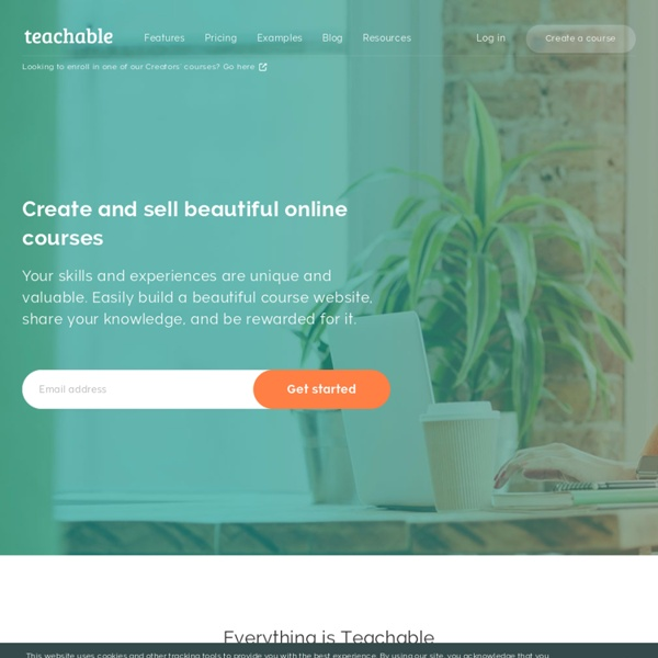 Create and Sell Your Own Online Courses