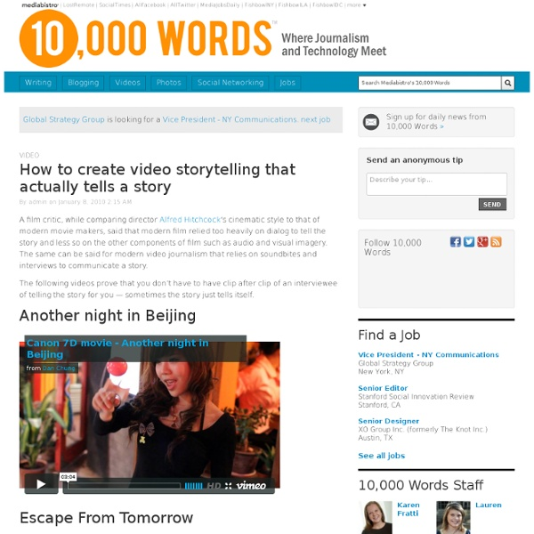 How to create video storytelling that actually tells a story