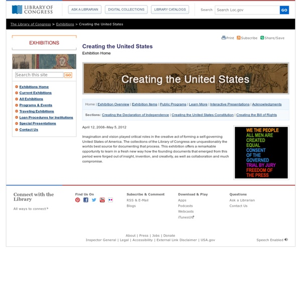 Creating the United States