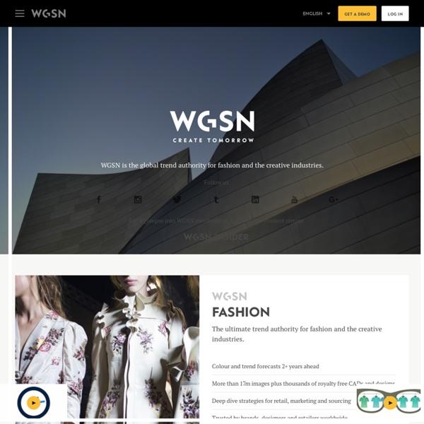 WGSN Fashion Trend Forecasting & Analysis