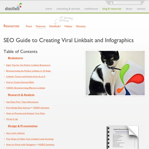 SEO Guide to Creating Viral Linkbait and Infographics - Distilled