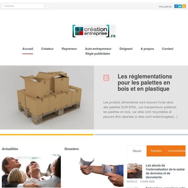 Creation-Entreprise.fr : portail de la création d'entreprise