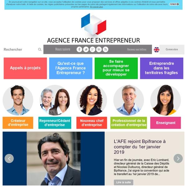 Aide au choix du statut - AFE, Agence France Entrepreneur