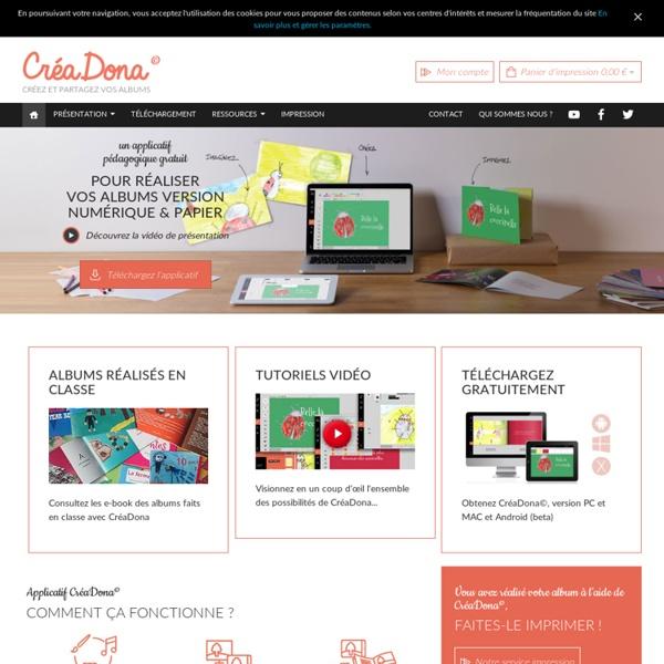 Création d'album numérique pour les scolaires