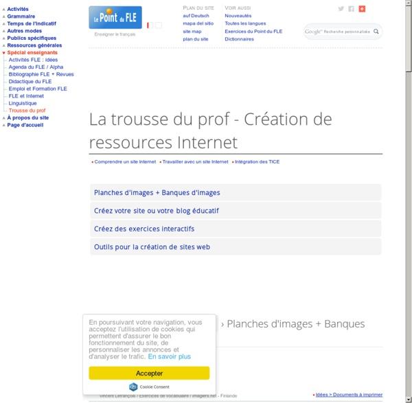 Création de ressources Internet