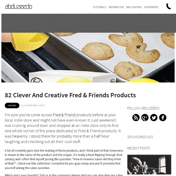82 Clever and Creative Fred & Friends Products