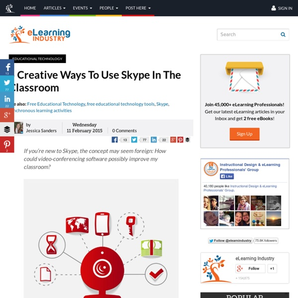 5 Creative Ways To Use Skype In The Classroom