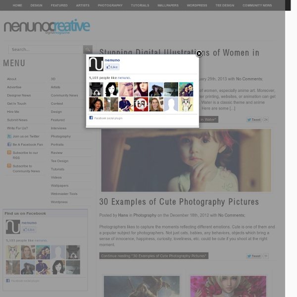 Nenuno creative - digital design blog with a touch of creativity!