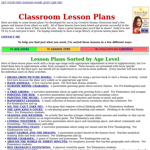 Lesson Plan Ideas For K-5 General Music Classes