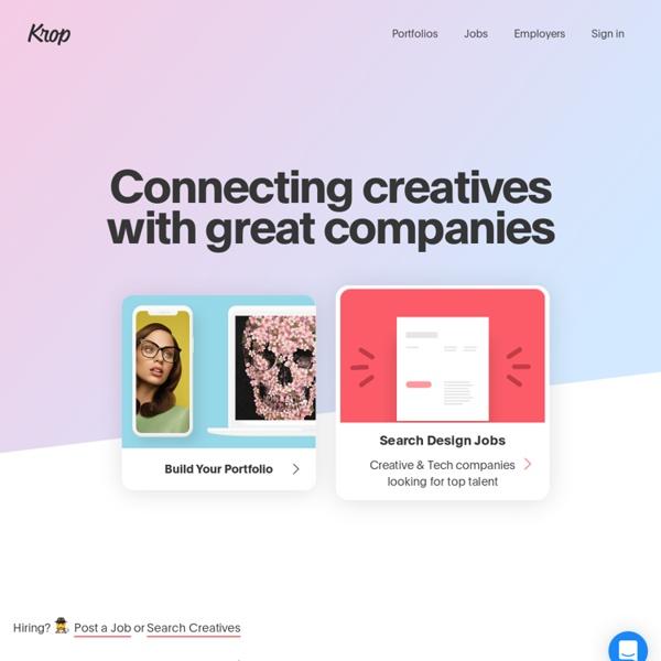 Find Creative, Design & Tech Jobs
