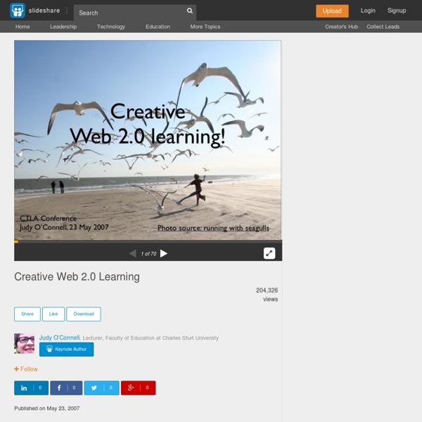 Creative Web 2.0 Learning