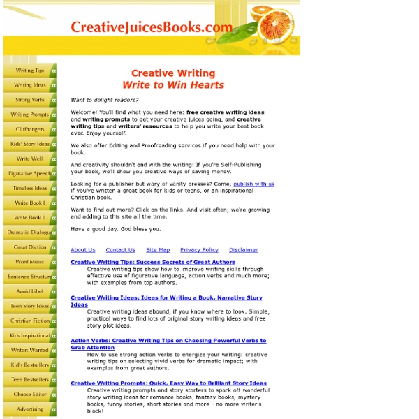 creative writing tips 2 Printable resources and ideas to support your children when writing fiction download them for free.