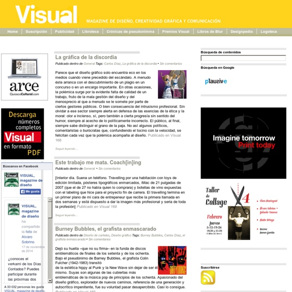 Visual: magazine de diseño, creatividad gráfica y comunicación