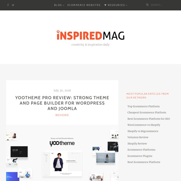 Inspired Magazine : A blog about design, development and inspiration