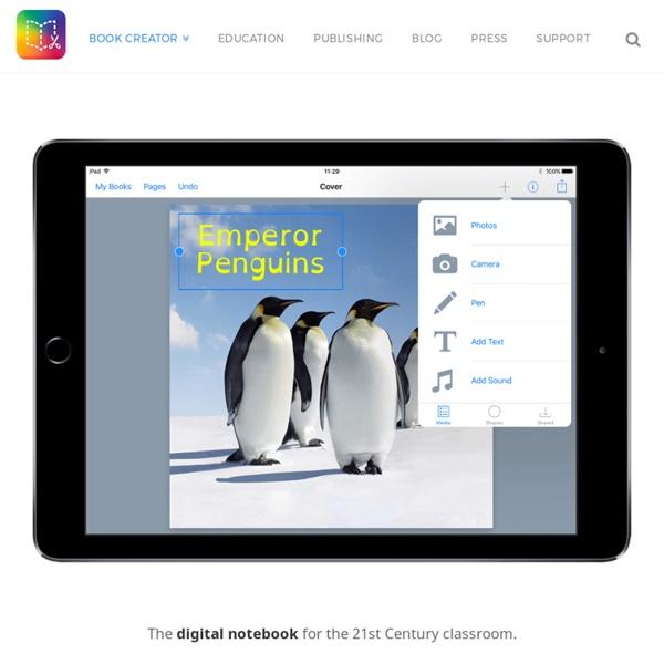 Book Creator - the simple way to create beautiful ebooks - Book Creator app
