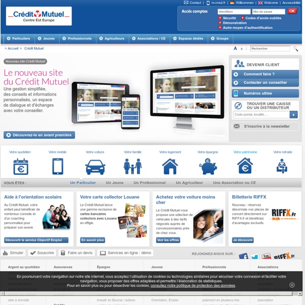 Cr dit mutuel la banque qui parler compte courant cr dit pearltrees - Plafond compte courant credit mutuel ...