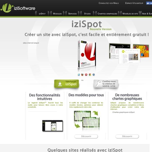 Créer un site internet gratuit avec iziSpot