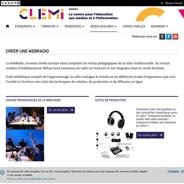 Créer une webRadio- CLEMI