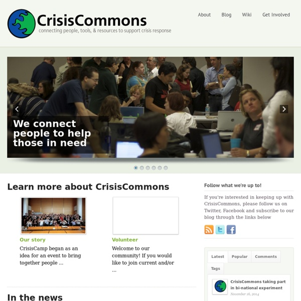 Crisis Commons