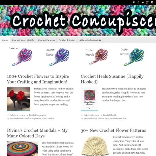 Crochet Concupiscence for Creative Crochet Art and Crafting
