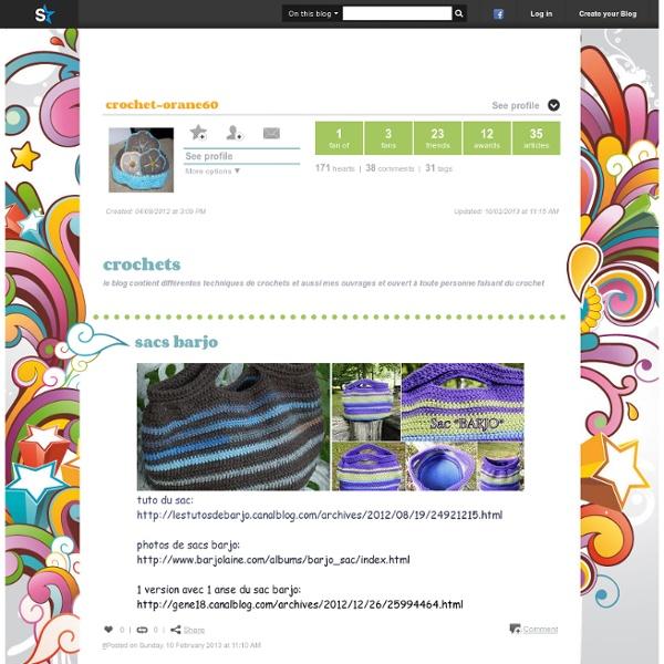 Blog de crochet-orane60 - crochets - Skyrock.com