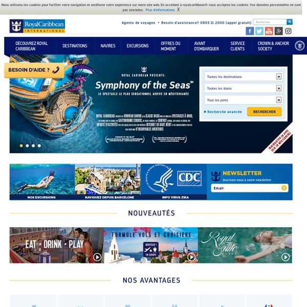Croisière Royal Caribbean International, croisière méditerranée, croisière caraibes - Royal Caribbean International