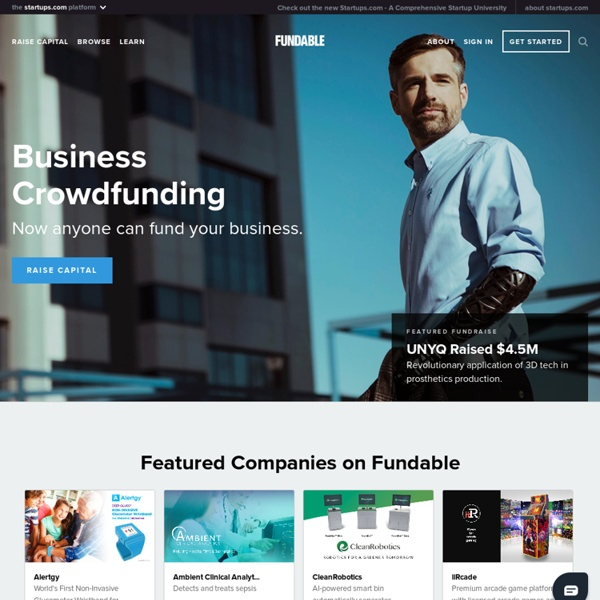 Crowdfunding for Startups & Small Businesses