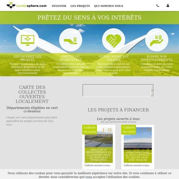 Lendosphere : crowdfunding et développement durable
