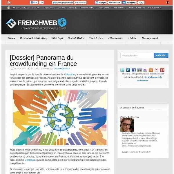 [Dossier] Panorama du crowdfunding en France
