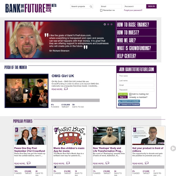 CrowdFunding & CrowdInvestment Platform