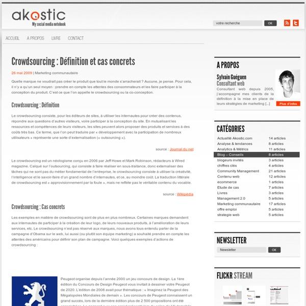 Crowdsourcing : Définition et cas concrets