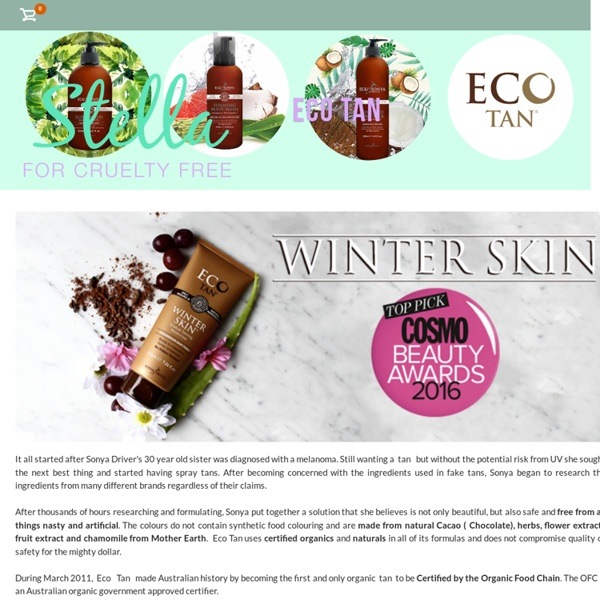 Eco Tan: Cruelty Free New Zealand - Stella