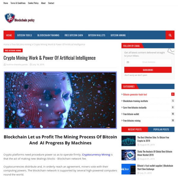 Crypto Mining Work & Power Of Artificial Intelligence