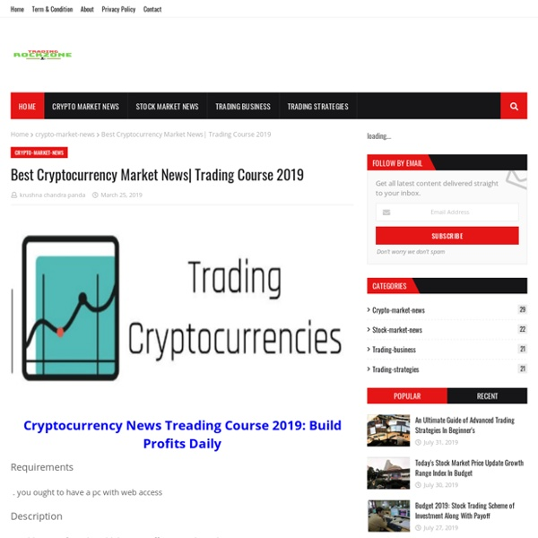 Best Cryptocurrency Market News