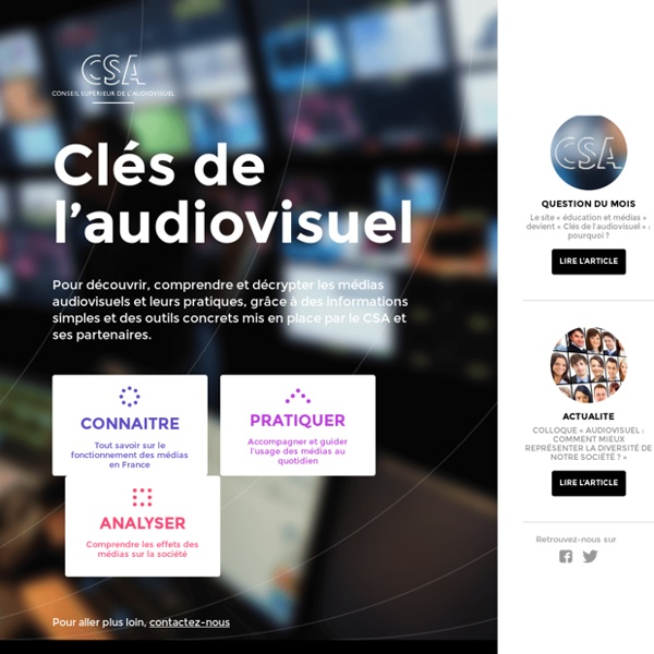 Éducation & médias - CSA