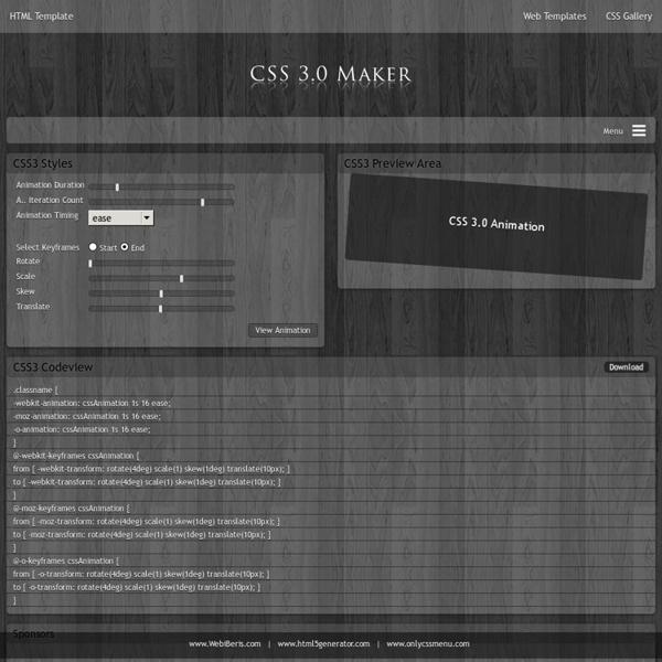 Animation Generator