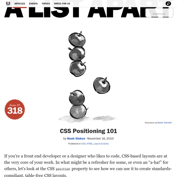 CSS Positioning 101
