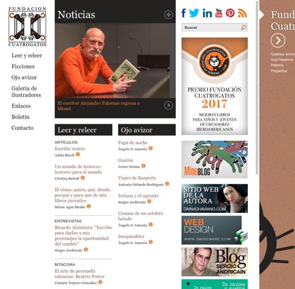 Fundación Cuatrogatos, literatura infantil y lectura