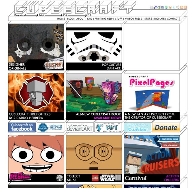Cubeecraft - Free Papercraft Toys