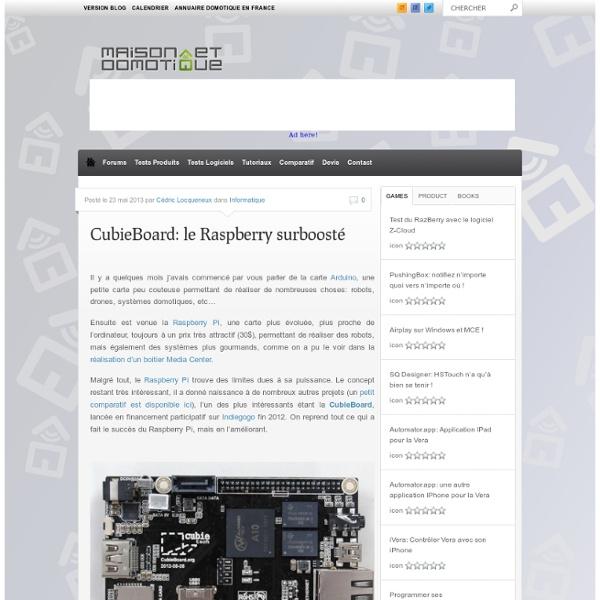 CubieBoard: le Raspberry surboosté