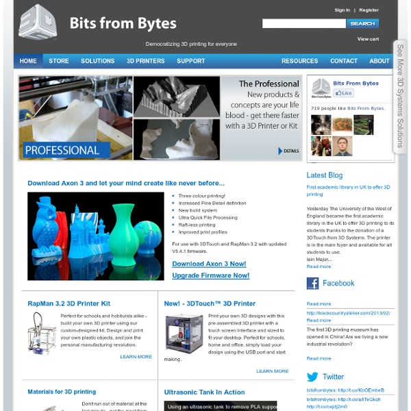 Bits From Bytes
