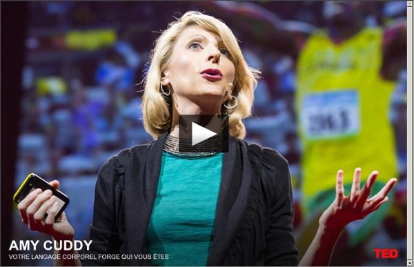 Vidéo : conférence TED 'Votre langage corporel peut changer votre mental'