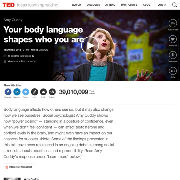 amy cuddy power posing pdf