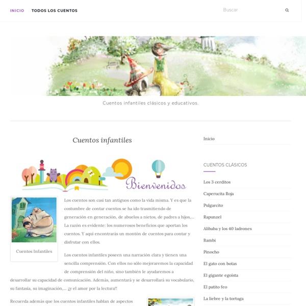 Cuentos infantiles. Cuentos clásicos para niños
