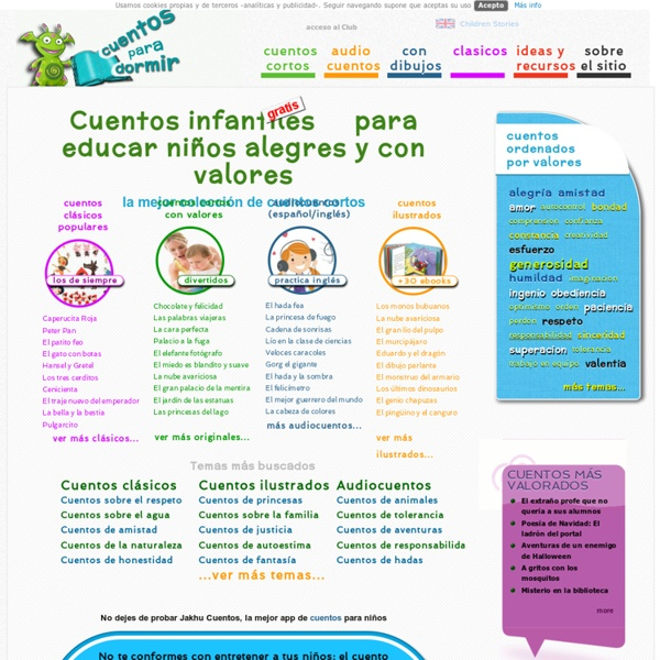 Cuentos infantiles para educar NIÑOS con VALORES