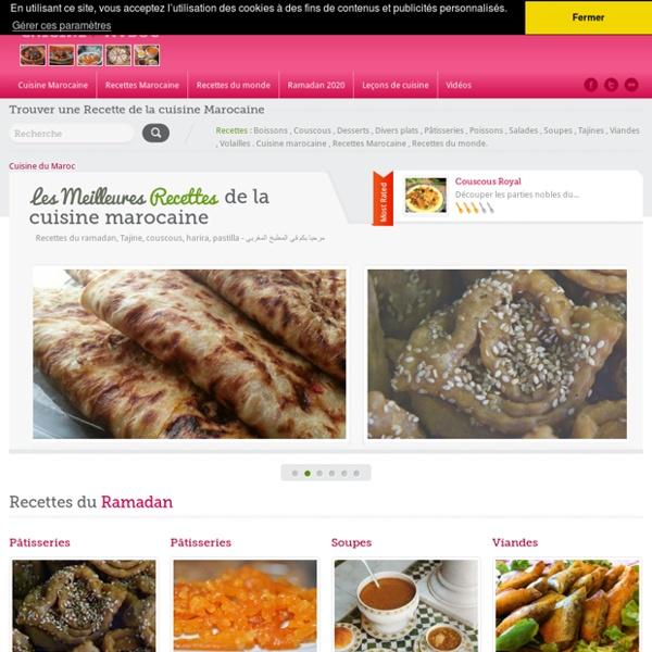 Cuisine marocaine , recette de cuisine , tajine , couscous